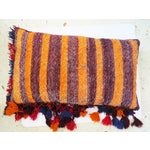 Image of Boho Chic Tassel Floor Pillow