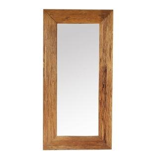 Rustic Teak Mirror