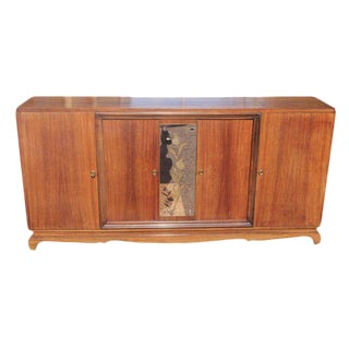 Classic French Art Deco Rosewood Sideboard / Buffet Circa 1940s.