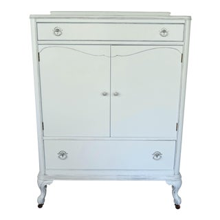 Light Blue Highboy Dresser