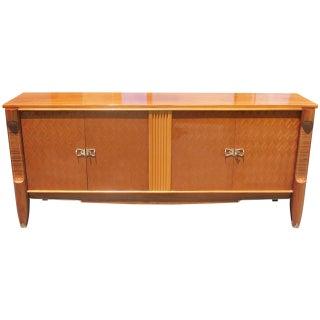 French Art Deco Mahogany Parquetry Buffet