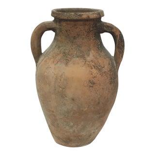 Mediterranean Turkish Ceramic Olive Oil Pot