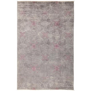 "Vibrance Hand Knotted Area Rug - 5'3"" X 8'1"""