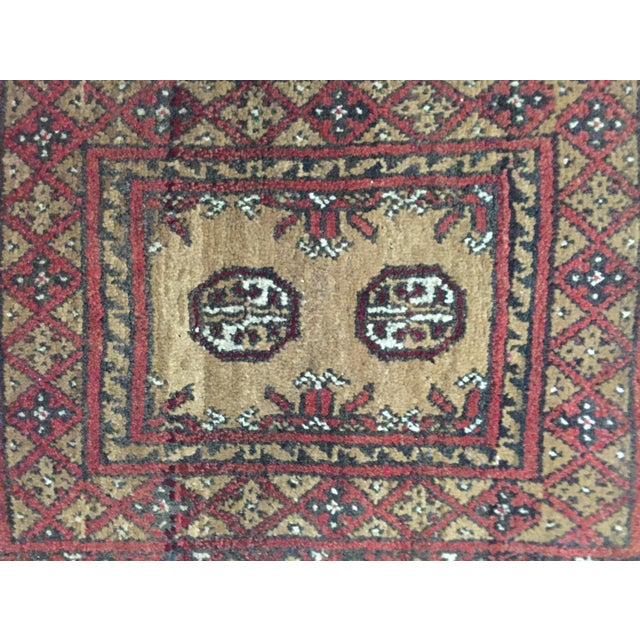 Turkaman Persian Rug - 1′7″ × 2′3″ - Image 4 of 9