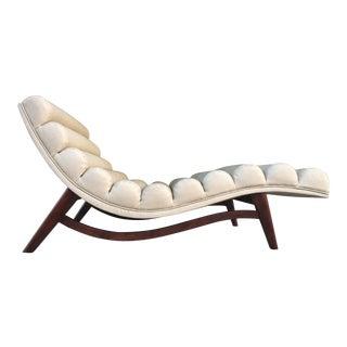 Upholstered Amoeba Chaise Lounge
