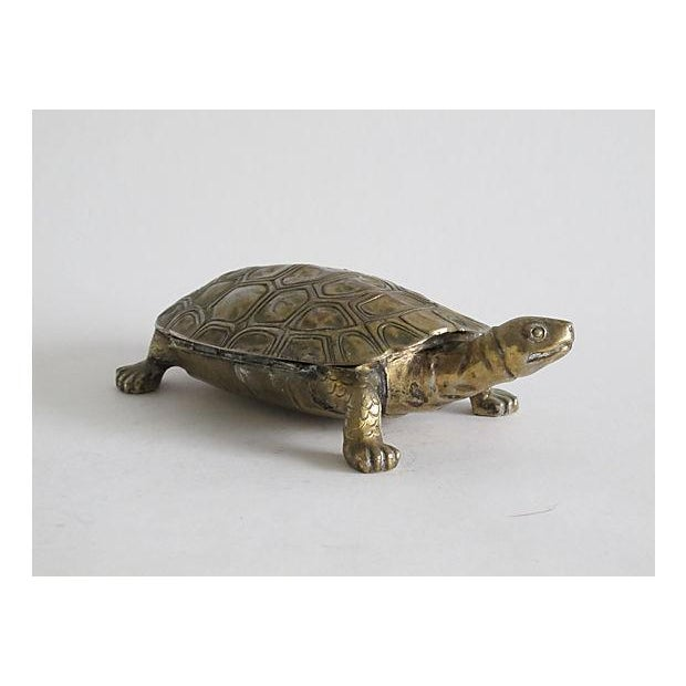 Silverplated Turtle Box - Image 4 of 5