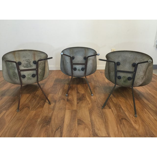 Eames Shell Arm Chairs - Set of 3 - Image 8 of 10