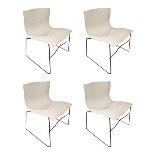 White Knoll Handkerchief Chairs - Set of 4