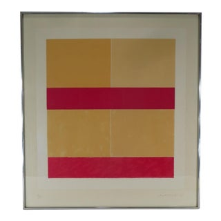 "Mark Lancaster ""Red"" Color Lithograph"