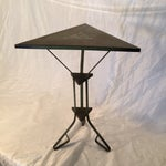 Image of Antique Vintage Deco Industrial Metal Side Table