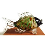 Image of Vintage Murano Style Glass Fish