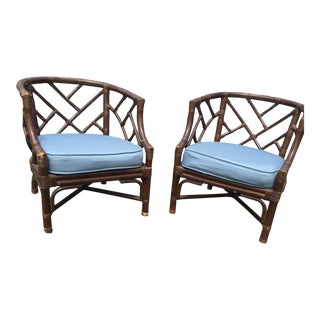 Vintage Bamboo Chairs - A Pair