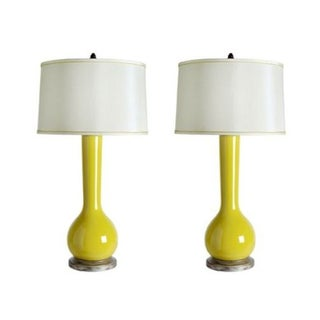 Bungalow 5 - Pair of Ceylon Lamps in Yellow