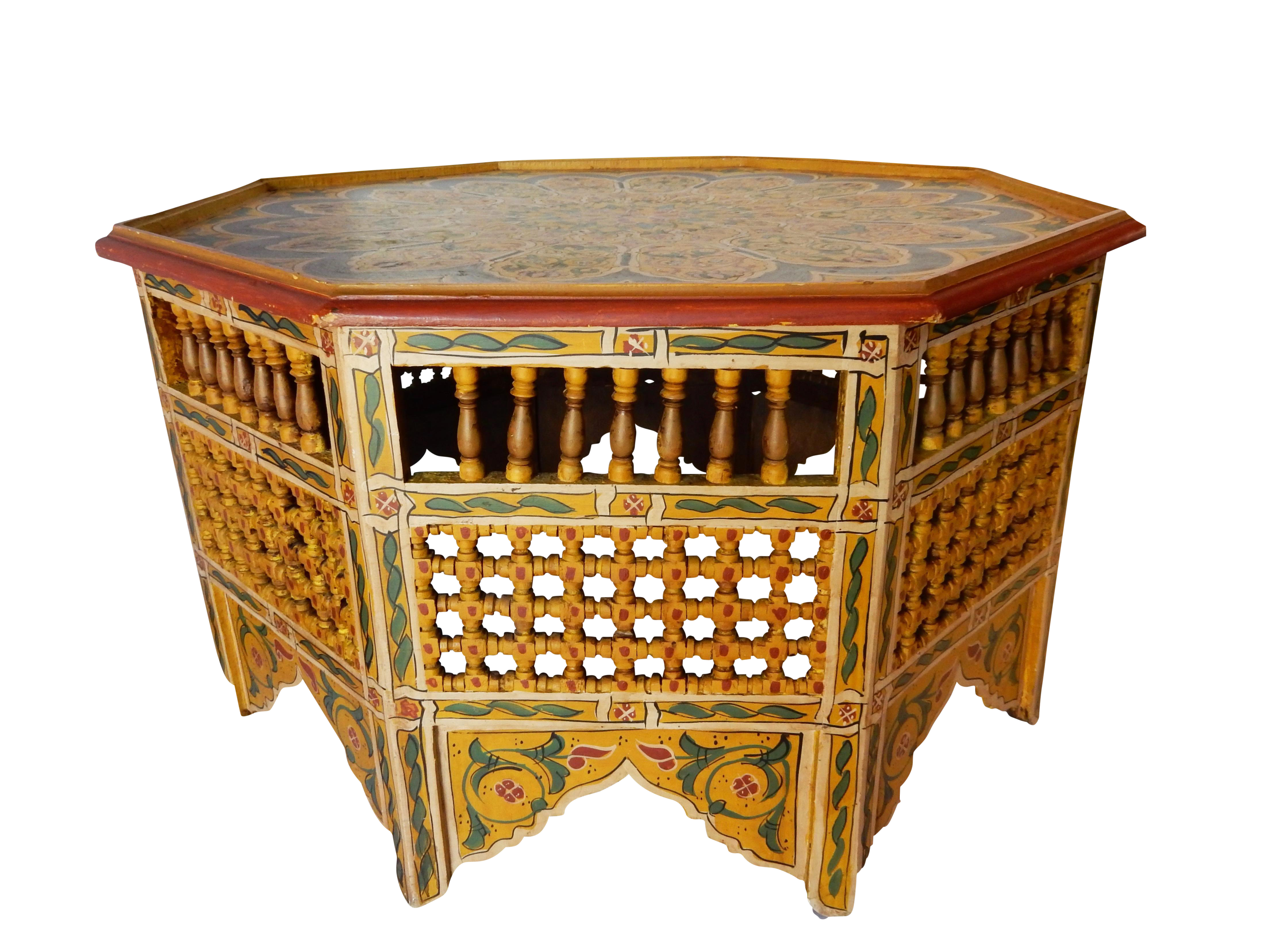 Moroccan 8 Sided Coffee Table