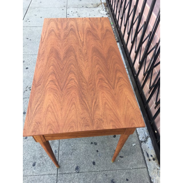 Vintage Mid-Century Wood Desk - Image 6 of 9