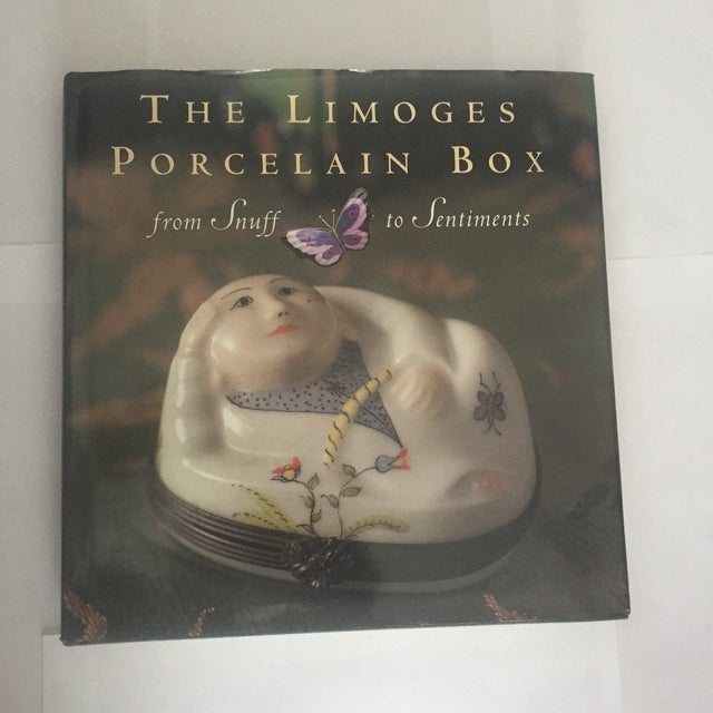 """Image of Signed Book """"The Limoges Porcelain Box"""""""