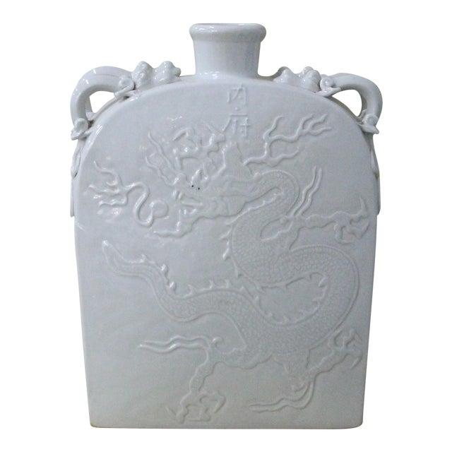 Sarreid LTD Grey Dragon Ceramic Vase - Image 1 of 3