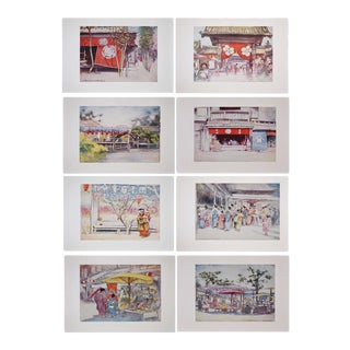 Mortimer Menpes Japan Prints - Set of 8