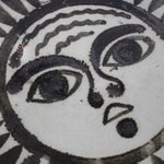 Image of Mid-Century Sun Face Trivets by Ken Edward - Pair