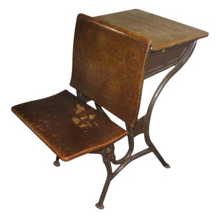Old School House Student Desk
