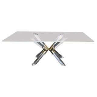 """""""Pole and Truss"""" Dining Table by Charles Hollis Jones"""