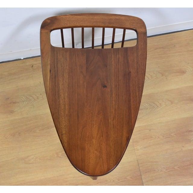 Image of Arthur Umanoff Mid-Century Magazine End Table