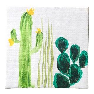 Desert Flora Petite Original Painting
