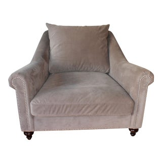 Z Gallerie Taupe Cardiff Chair
