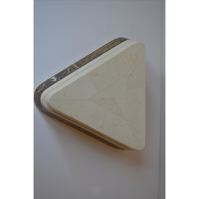Triangle Tessellated Stone Trinket Box - Image 4 of 11