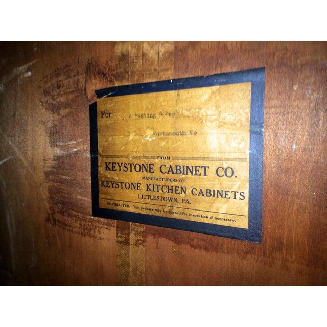 Image of Mid Century Wood Wardrobe by Keystone Cabinet Co.