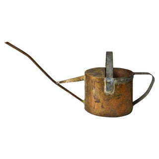 Handmade Primitive Copper Watering Can