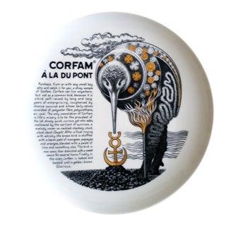 Vintage Piero Fornasetti Fleming Joffe Recipe Plate