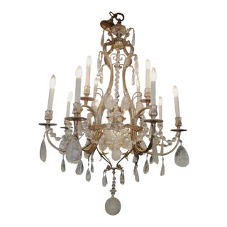 Rock Crystal Chandelier 13 Lights