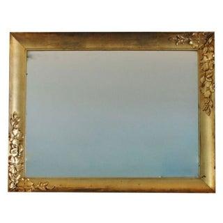 Vintage Carved Gilt Mirror