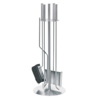 Blomus 5 Piece Stainless Steel Fireplace Tool Set