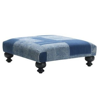 West Elm Essex Dhurrie Ottoman - Limited Edition