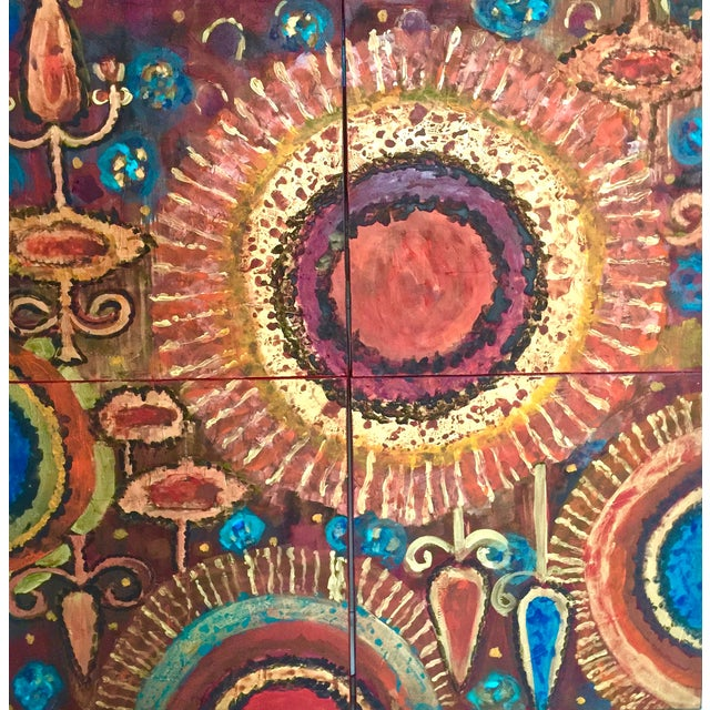 Image of Bryan Boomershine 'Sun Worship' Painting