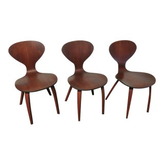 Mid-Century Plycraft Bentwood Sculptural Chairs - Set of 3