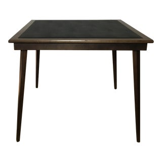 Mid-Century Wooden Folding Game Table