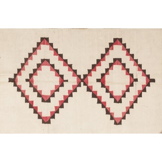 Traditional Navajo-Style Rug - 3' x 4'5""