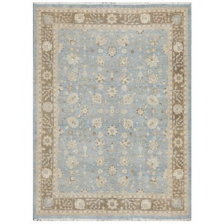 Hand-Knotted Tabriz Rug - 9' x 12'