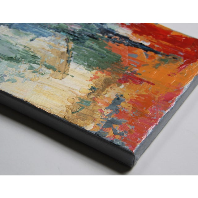 Celeste Plowden Late Summer Marsh Painting - Image 2 of 2