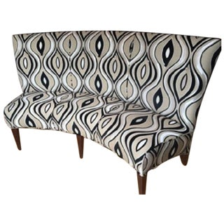 Modern Tufted Banquette