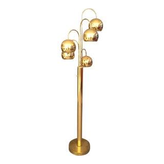 Mid-Century Multi Light Sphere Floor Lamp