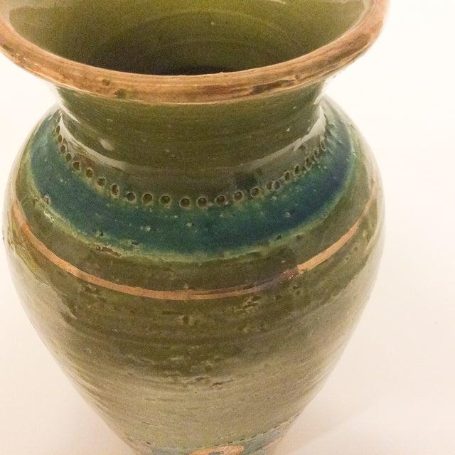 Mid Century 1960's Bitossi Ceramic Vase - Image 5 of 6
