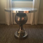 Image of Vintage Silver Tulip Table