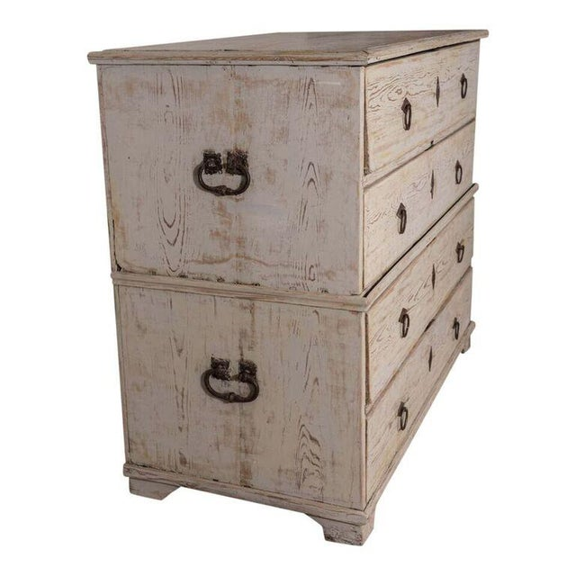 19th Century Swedish Painted Chest-on-Chest - Image 2 of 7