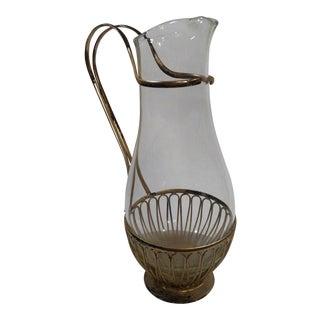 Vintage German WMF Art Nouveau Glass Decanter
