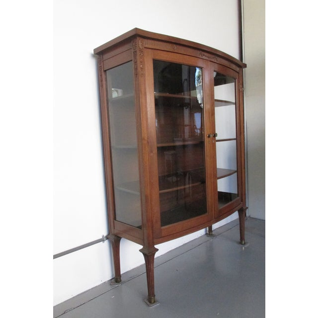 Mahogany Display Cabinet - Image 3 of 6