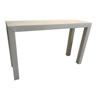 Upholstered Celine Parsons Table